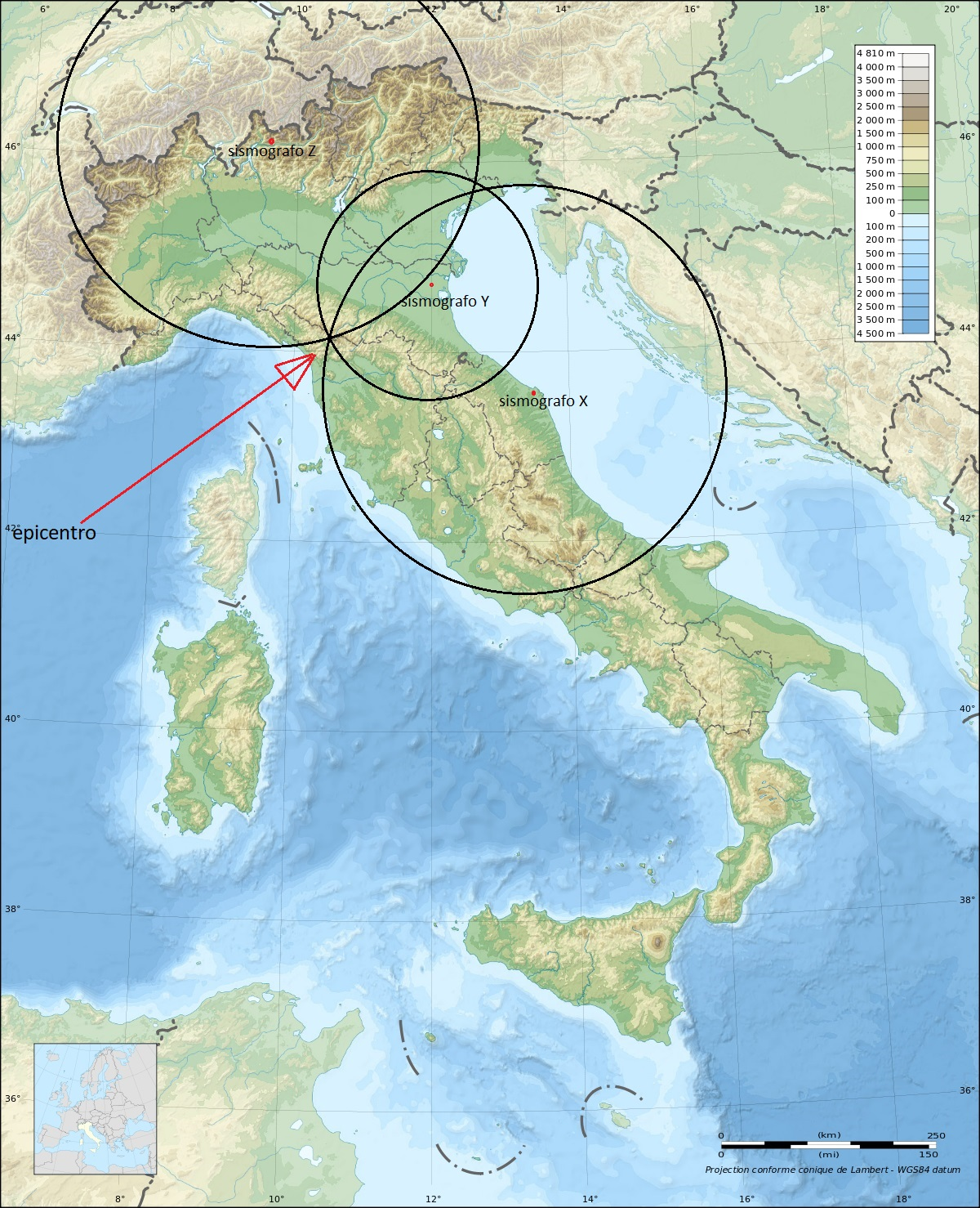1200px Italy topographic map blank