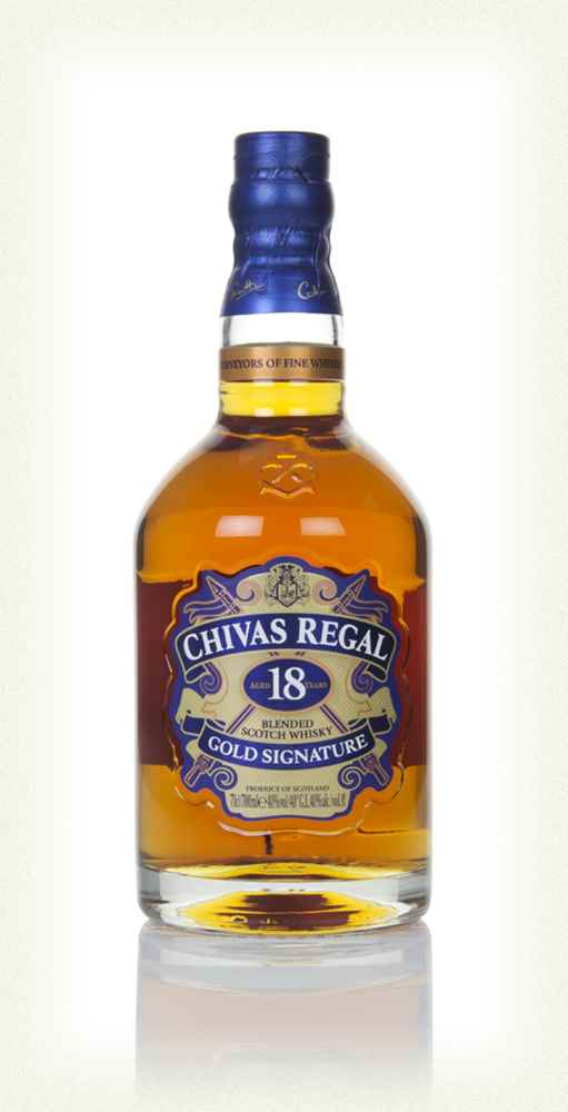 chivas regal 18 year old whisky